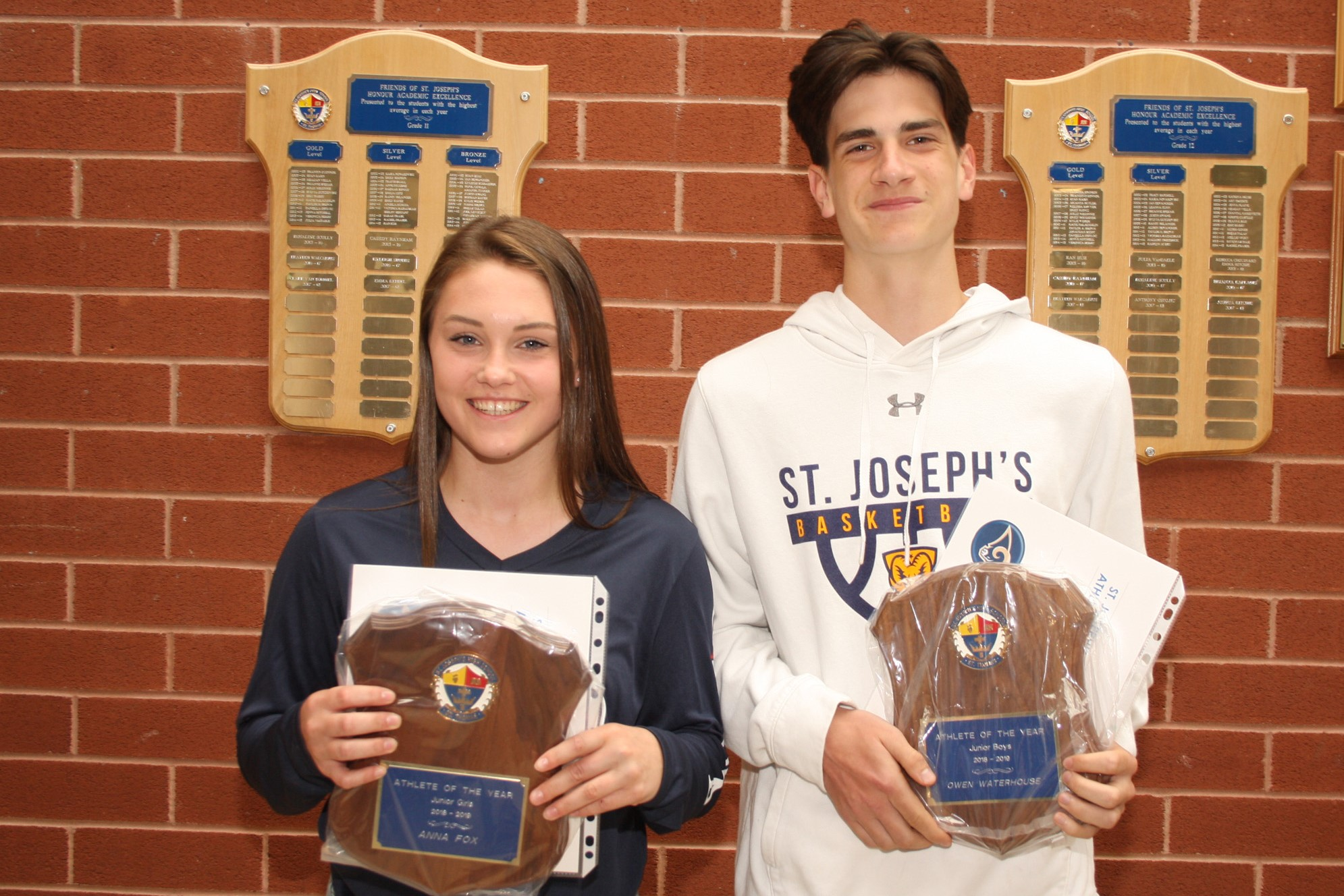 St. Joe's Athletic awards